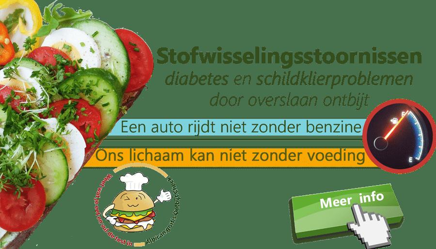 Stofwisselingsstoornissen, diabetes 2, Schildklier