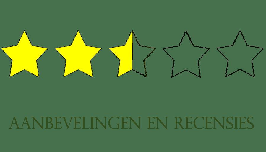 Aanbevelingen recensies