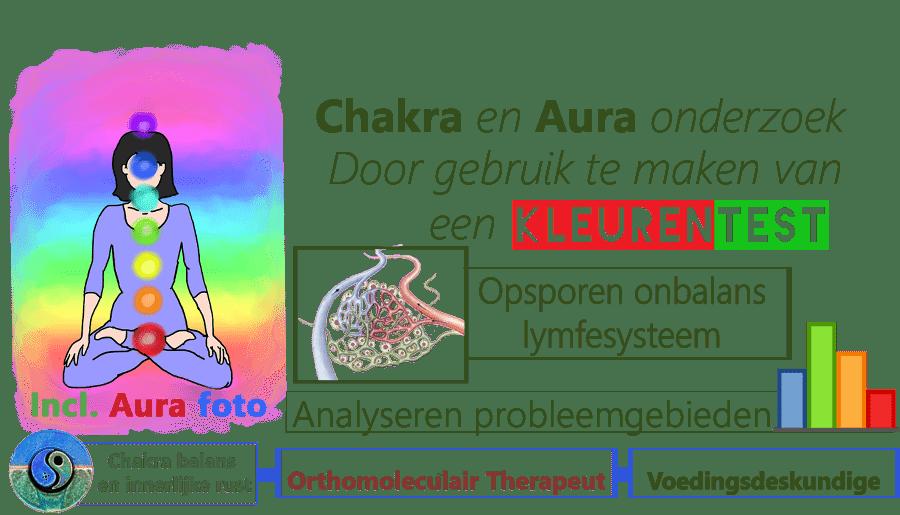 Chakra en Aura kleuren onderzoek