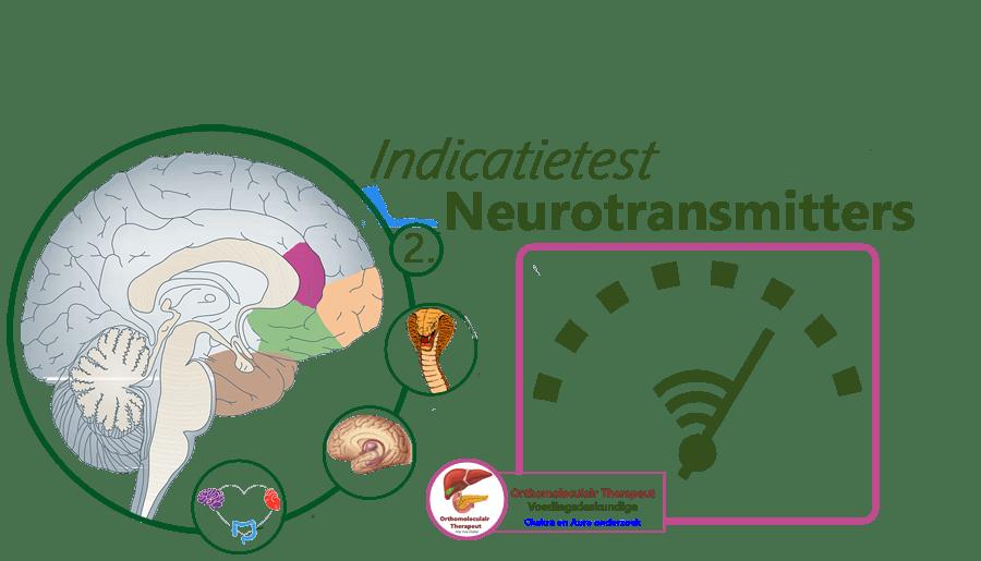 Indicatietest, neurotransmitters, hersenen en balans, zoals dopamine, serotonine