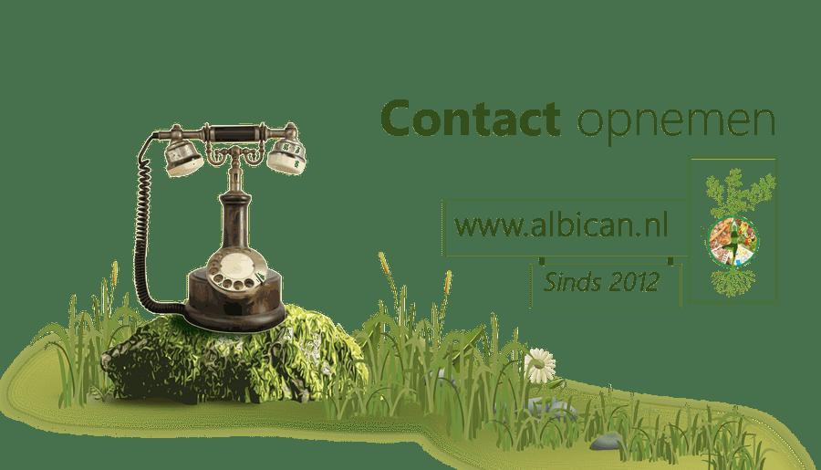 Contact, Albican, Vraag stellen, Whatsapp, Telefoon, afspraak maken, Orthomoleculair Therapeut, Voedingsdeskundige, Chakra en aura onderzoek